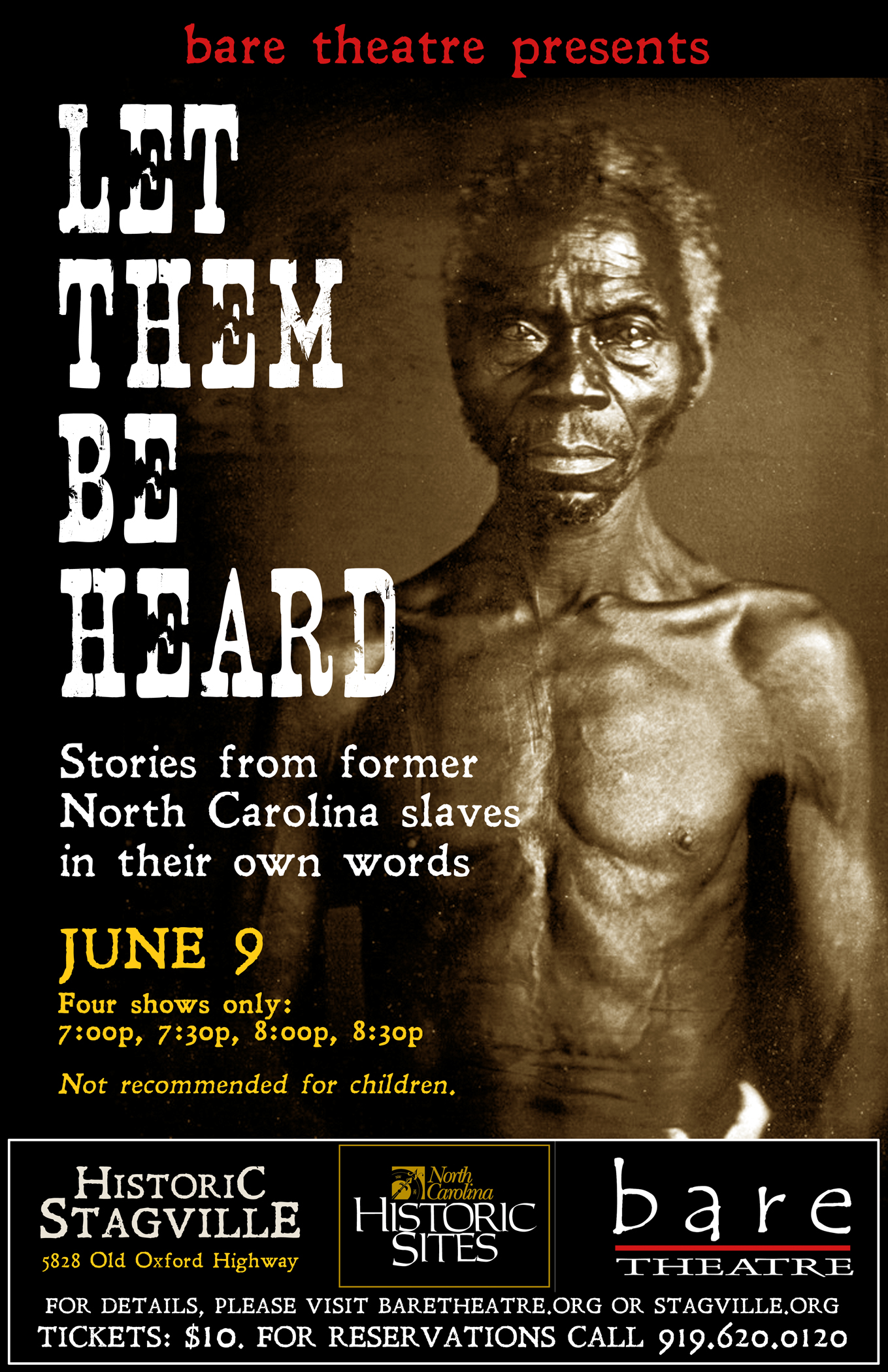 Let Them Be Heard poster preview